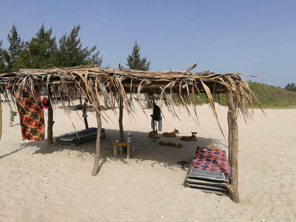 Batokunko Beach in Gambia