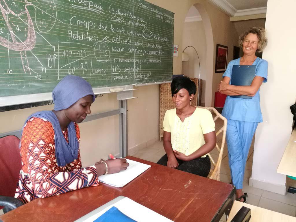 Praktischer Unterricht in Gambia