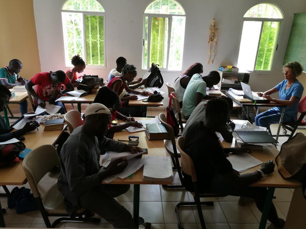 Unterricht in Gambia
