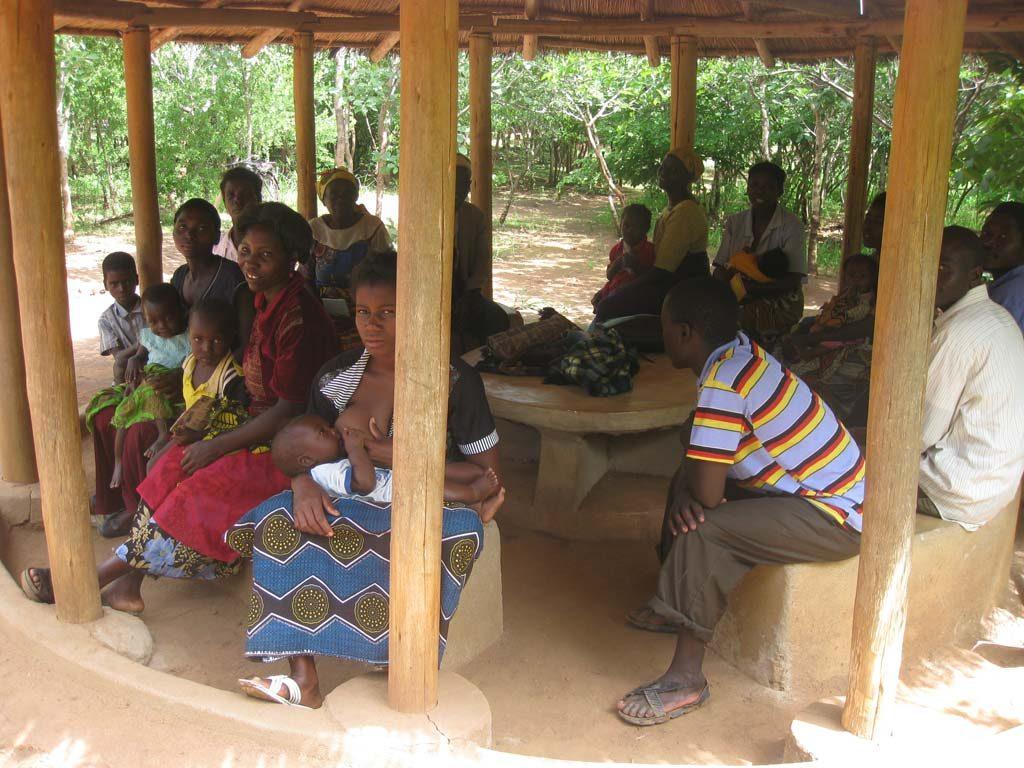Wartezimmer in Malawi